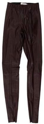 Robert Rodriguez Leather Skinny Leggings