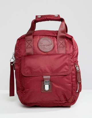 Dr. Martens Red Small Flight Backpack
