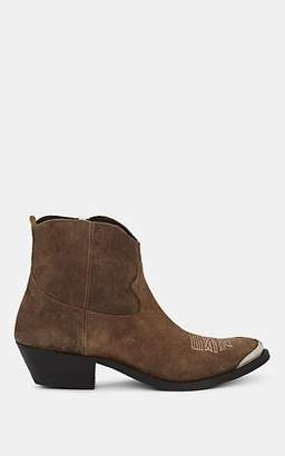 Golden Goose Women's Young Suede Ankle Boots - Brown