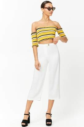 Forever 21 High-Waist Cropped Pants