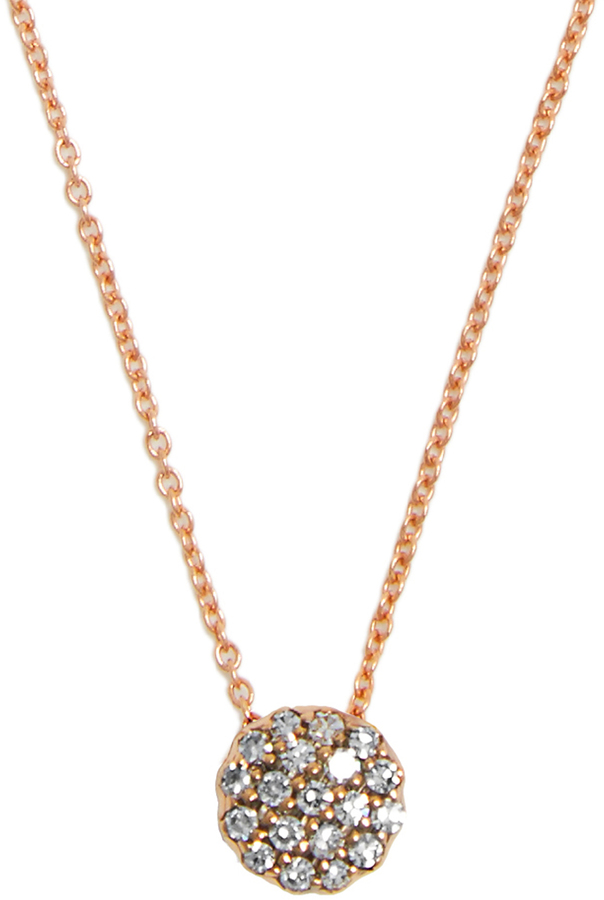 SELIM MOUZANNAR Diamond & pink-gold Beirut necklace
