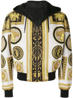 Versace Cornici print jacket