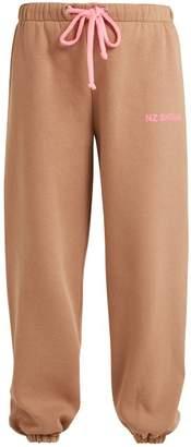 Natasha Zinko - Logo Print Track Pants - Womens - Beige