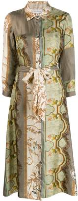 Pierre Louis Mascia Pierre-Louis Mascia jacquard shirt dress