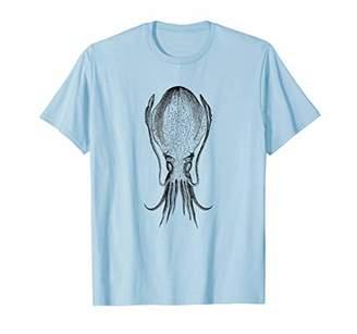Giant Deep Sea Squid Print T-Shirt