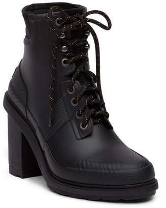 Hunter High Heel Commando Rain Boot