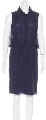 Chanel Silk Sleeveless Dress