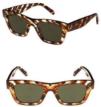 Celine C?line 51mm Rectangular Sunglasses