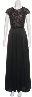 ABS by Allen Schwartz Sequin Maxi Dress