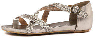 Django & Juliette New Gamasi Champagne Womens Shoes Casual Sandals Sandals Flat