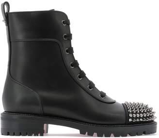 Christian Louboutin Ts Croc Lace-Up Boots