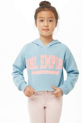 Forever 21 Girls Girl Empire Graphic Hoodie (Kids)