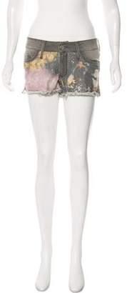 Black Orchid Mini Disco Shorts