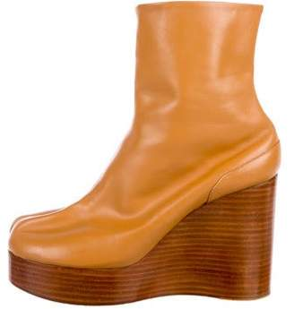 Maison Margiela Tabi Wedge Ankle Boots