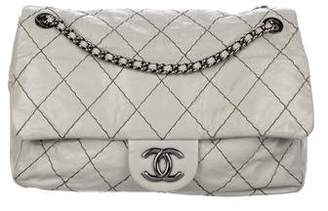 Chanel Double Stitch Jumbo Flap Bag