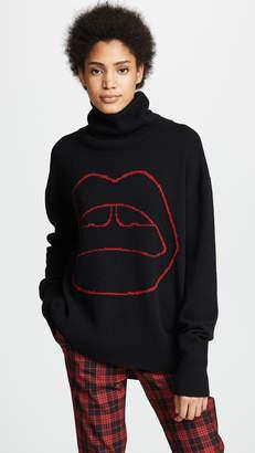Markus Lupfer Erin Lara Lip Sweater