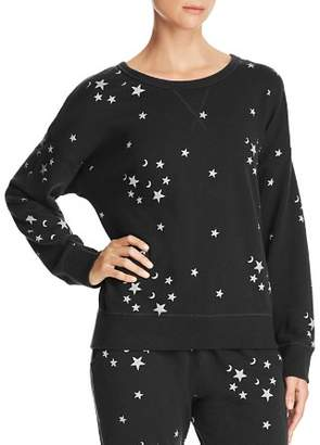 Vintage Havana Moon-and-Star Cotton Sweatshirt