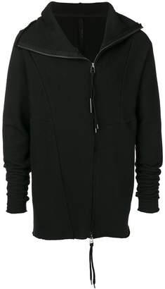 Army Of Me deconstructed zip-up hoodie