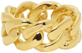 Ambush Gold Chain 3 Ring