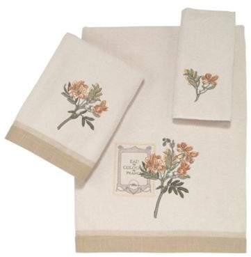 Alana Fingertip Towel in Ivory
