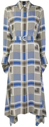 Joseph geometric printed dress