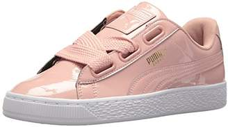 Puma Women's Basket Heart Patent Wn Sneaker