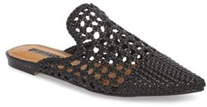 Topshop Knot Woven Mule