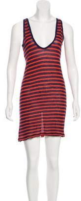Alexander Wang Striped Knit Dress