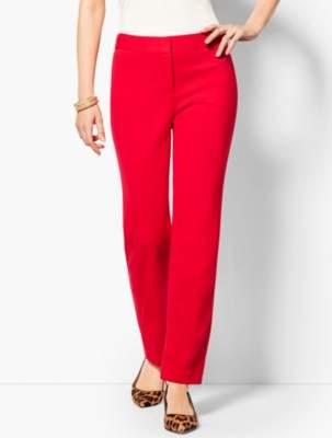 Talbots Italian Luxe Knit Straight-Leg Pant