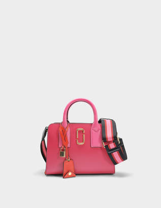 Marc Jacobs Little Big Shot Bag in Hibiscus Split Cow Leather