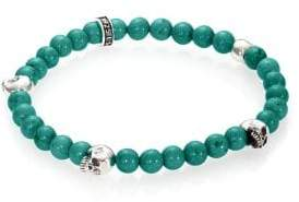 King Baby Studio Turquoise Beaded Bracelet