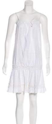 Melissa Odabash Sleeveless Lace Mini Dress
