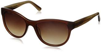 Hang Ten Gold Women's HT Classic Rectangular HTG1041 C2 Polarized Round Sunglasses