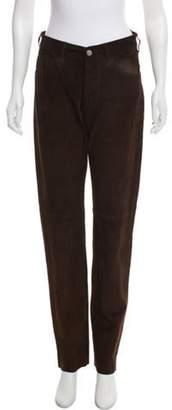 agnès b. Suede Leather Pants Suede Leather Pants