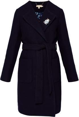 Ted Baker Nattaa Wool Wrap Coat