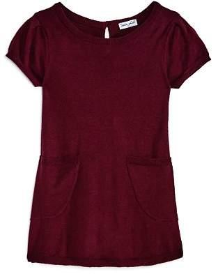 Splendid Girls' Knit Sweater Dress with Pockets - Little Kid