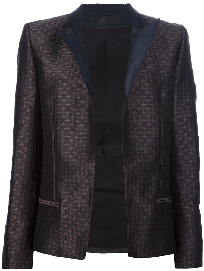 Haider Ackermann single breasted blazer