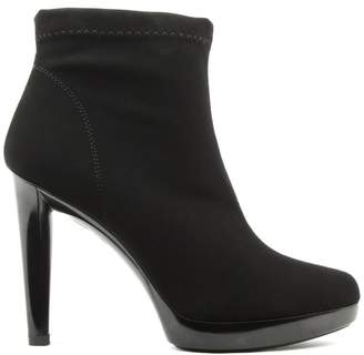 Daniel Renee Black Low Platform Ankle Boot