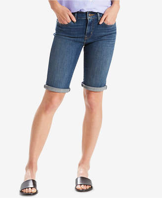 Levi's Denim Bermuda Shorts