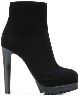 Sergio Rossi platform heeled boots
