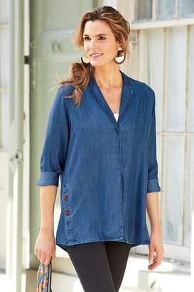 Soft Surroundings Savvy Tencel® Shirt