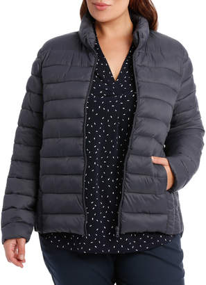 Superlight Quilted Jacket With Stand Collar-Storm / Midnight RW19545P-CW1