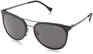 Police Sunglasses SPL153 Impact 2 Oval Polarized Sunglasses