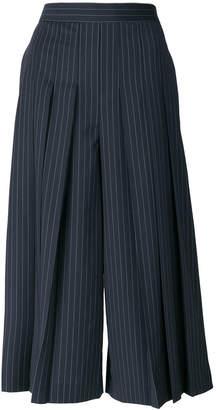 Neil Barrett pinstriped tailored culottes