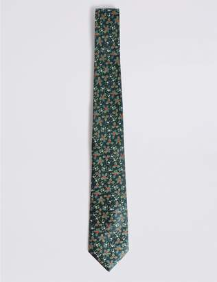 Marks and Spencer Holly & Mistletoe Christmas Tie