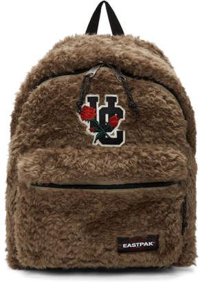 Undercover Beige Eastpak Edition Faux-Fur Pakr Backpack