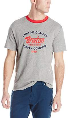 Brixton Men's Erwin Short Sleeve Knit