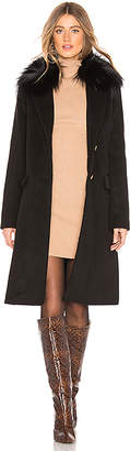 Mackage Henrita Coat With Fur Trim