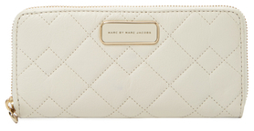 Marc By Marc Jacobs Crosby Slim Quilted Leather Zip Around Wallet