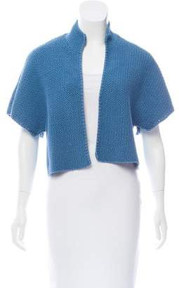 Akris Short Sleeve Knit Shrug